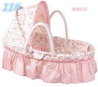 Wholesale New Arrival Baby Basket CM CM Sizes for Choice Same Price Portable Baby Bassinet Travel Sleeping Bed Colors