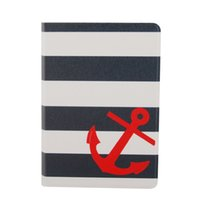 Wholesale Elonbo Fashion Anchor and Stripe quot Protective Leather Case Cover for Amazon Kindle Paperwhite Kindle Paperwhite