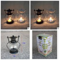 craft candle - 2014 colors small lantern candle Creative wedding christmas crafts classic storm lantern small home arts furnishing articles topB944