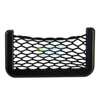 Wholesale 5pcs Newest Car Organizer Pockets Net Automotive with Adhesive Visor X8cm Net Bag b11