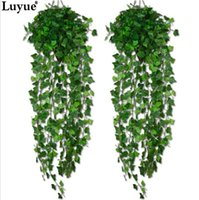 artificial feet - Artificial Ivy Leaf Garland Plants Vine Fake Foliage Flowers Home decor feet