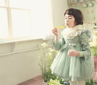 Wholesale Korean Baby Clothes Girl Tench Coats Fall Winter Spring New Kids Princess Outerwear Coat Clothes Children Clothing With Hooded Hot Sale