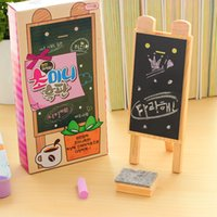 Wholesale Pieces Korea Cute Little Blackboard Creative Desktop Message Board Small Fresh Home Scaffolding Mini Blackboard