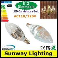 power light - Cree LED Candelabra E12 E14 E27 Bulb w w Dimmable LED Candle Bulb LED Lights Lamp Warm Nature Cool White