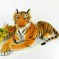small stuffed animals - Small cute plush tiger toys lovely stuffed doll Animal pillow Children Kids birthday gift cm A5