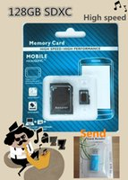 Cheap 128GB Class 10 Micro SD card gift mini Android Robot microSDHC 128 GB microSD High speed 128GB TF Card 5PCS Send 5 card reader