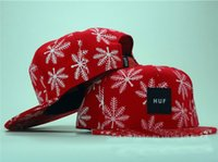 Wholesale 50pcs Tidal hat HUF adjustable printing hat Snapback hip hop baseball cap hat hat hql