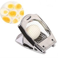 Wholesale High grade stainless steel alloy cutting tools preserved egg egg cut knife cut egg slicer Bakeware