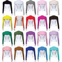 Wholesale Fashion Hijab Muslim One Piece Sleeves Arm Cover Shrug Bolero Hayaa Colors