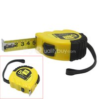 Wholesale Retractable Ruler Measure Tape Metres Ft With Strap Pocket Measuring Tool