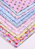 Wholesale 100 CM Graceful World patterns Cotton Patchwork fabric home Textiles Cotton Poplin for sewing cotton fabric material