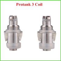Electronic Cigarette Atomizer Core 2.0ohm 2014 Protank 3 Atomizer Changeable Dual Coil Replacement Core Heads Pro Tank Coil Head Replaceable Core for Kanger 0202007