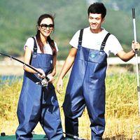 Wholesale fishing pants waterproof pant and wade into the water fishing suit pants waterproof clothing bag mail
