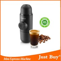 Wholesale Portable travel with coffee machine Minipresso mini portable espresso machine for coffee powder chic Christmas gifts