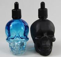 best glass bottle - skull head glass bottle matte black ml ml ml supply best selling dropper glass e juice bottle childproof cap