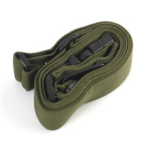 Wholesale Hot Sale Three Point Rifle Sling Adjustable Bungee Tactical Airsoft Gun Strap Paintball Gun Sling for hunting Army Green