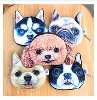 baby borders - Coin Purses D Animal Purses Cartoon Purse for Baby Girl Round Purses Ha sunkist Border Collie Pug Dog Coin Purse Kids Wallet m962