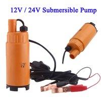 Wholesale 12V V DC MINI Diesel Fuel Water Oil Diesel Fuel Transfer Pump Submersible Transfer Pump On Off Switch Car Van Plastic