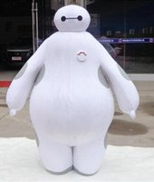Custom Made big high school - Hot Sale High Quality baymax Big Hero Mascot Costumes Adult Size Cartoon Costumes For Christmas halloween party school suit outfit