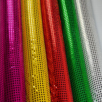 decorative mesh - Wedding background mesh gauze curtain hanging piece Flash chip bead piece Costumes decorative fabric Elegant Wedding Sequin Table Linens