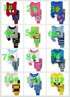 men cotton pajamas set - Superman Batman Spider Man Frozen Cartoon Printing Kids Cotton Long Sleeve Pajamas Set Boy Girls Leisure Tracksuit Children Outfits style