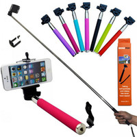 Wholesale Selfie Stick Handheld Monopod Z07 suporte para selfie Tripods Mount Holder For iPhone Smartphone or SJ4000 SJ5000 Camera selfie