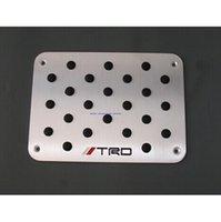 Wholesale new aluminum floor mat pedal foot pedal pad for mitsubishi outlander pajero evo lancer ex asx Ralliart