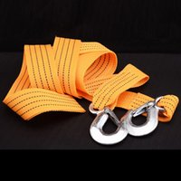 Wholesale 3M Hot Sale Tow Rope Cable with Hooks for Heavy Duty Car Emergency dropshipping