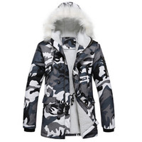 Wholesale Winter Hot selling winter parka Outdoors warm Coat With Camouflage Thermal Winter Jacket Men M L XL XXXL High Quality man jacket