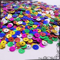 Wholesale 10 mm Mix Color Round Flat Spangle Sequins DIY Sewing Paillettes For Dress Clothing Decorations Accessories g