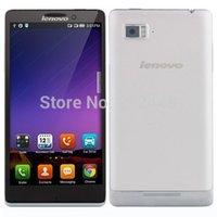 Wholesale Case film free Lenovo K910 VIBE Z silver grey Snapdragon Quad Core GHz quot IPS screen Dual SIM G RAM G ROM
