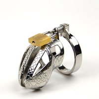 male chastity belts - Small Chastity Device Metal Chastity Cage Stainless Steel Cock Cage Male Chastity Belt Cock Rings BDSM Toys Bondage Sex Products For Men