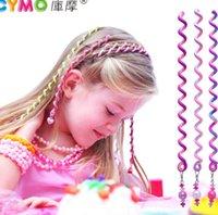 birthday presents - 2015 Hot Children Accessories Hair band curler Polymer clay children gift Hair Claws birthday present EFJ2