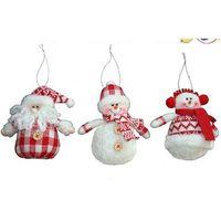 santa ornament - New Cute Santa Snowman Tree Festival Ornament Christmas Decoration