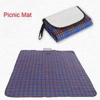 Wholesale Waterproof Outdoor Picnic Mat Foldable Beach Camping Baby Climb Plaid Blanket Mat Rug camping tarp Outdoor Pads knee pads camping mat