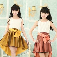 teen clothes - 2015 girl cocktail dress party princess girls formal dresses baby kids child children teenage summer clothing for teens years