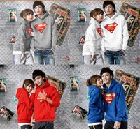 Wholesale new sale superman hoodies for autumn winter Fleece sweatshirt Superman hoodie super man pullover colors