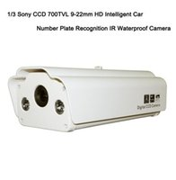 Wholesale Security Sony CCD TVL mm Intelligent Car Number Plate Recognition IR Waterproof Camera X Digital Zoom