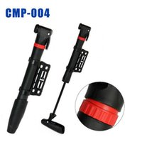 Wholesale E0091 Bicycle Pump Single stroke Swinging Head Plastic Mini Portable Inflator Cycling Bike Pumps Black