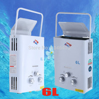 Wholesale RSQ B6Y LITER GPM Mini Portable Propane Gas Bottle LPG Instant Tankless Water Heater Boiler with Shower Head CE A3