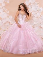 Wholesale 2015 High Quality Taffeta Wedding Dress Crew Neck Quinceanera Dresses Beading Sleeveless Floor Length Sheer Sexy Prom Dress vestidos de