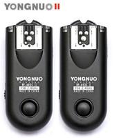 Wholesale F08977 RF II C3 Yongnuo RF603II Wireless Flash Trigger for Canon D DII DIII D D FreePost