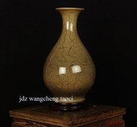 art pottery vase - Chinese modern art ceramic vase Home Furnishing decoration of Jingdezhen pottery