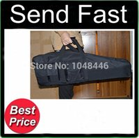 Wholesale Black Tactical quot quot cm Rifle Gun Shotgun Slip bag Case built in oblique wave cotton
