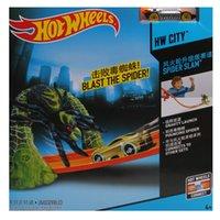 hot wheels - HOT WHEELS toy upgraded track rail boy car toy BCT35 simple orbit hot wheels track rail Boy toy