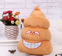 animal encyclopedia - 2016 Queen Creative pillow plush toys special gifts struggle warm hand pillow fight dung poo doll embarrassments Encyclopedia