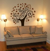 art deco wall colors - TREE Wall Decal Deco Art Sticker Mural AMAZING COLORS inX55in