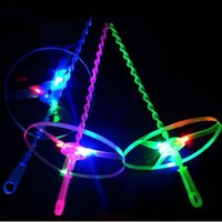 Wholesale Multi Color LED Flashing Flying Saucer Helicopter For Kids Toy Gift
