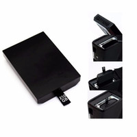 Wholesale HDD hdd Hard Drive For Xbox Slim High Quality Game Console Repair Parts GB gb Harddisk For XBOX360 Slim For Microsolf