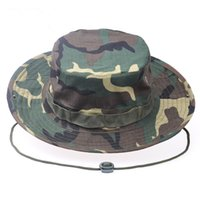 Wholesale New Hot Good Selling Males Females Men Women Unisex Casual Adjustable Outdoor Sports Fishing Jungle Sunscreen Hat